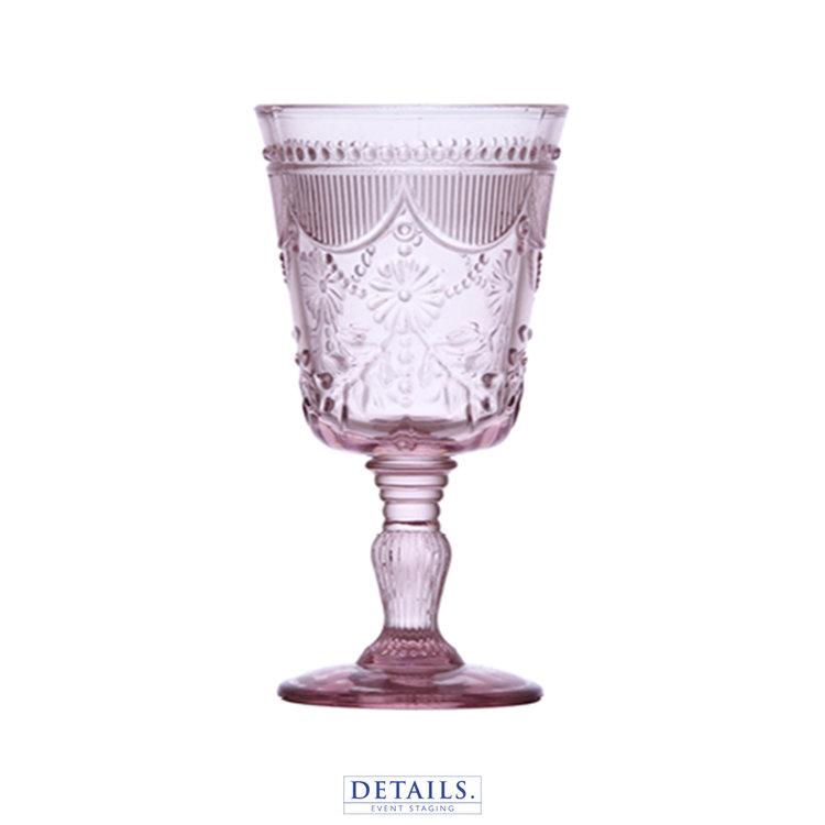 Debutante Blush Goblet