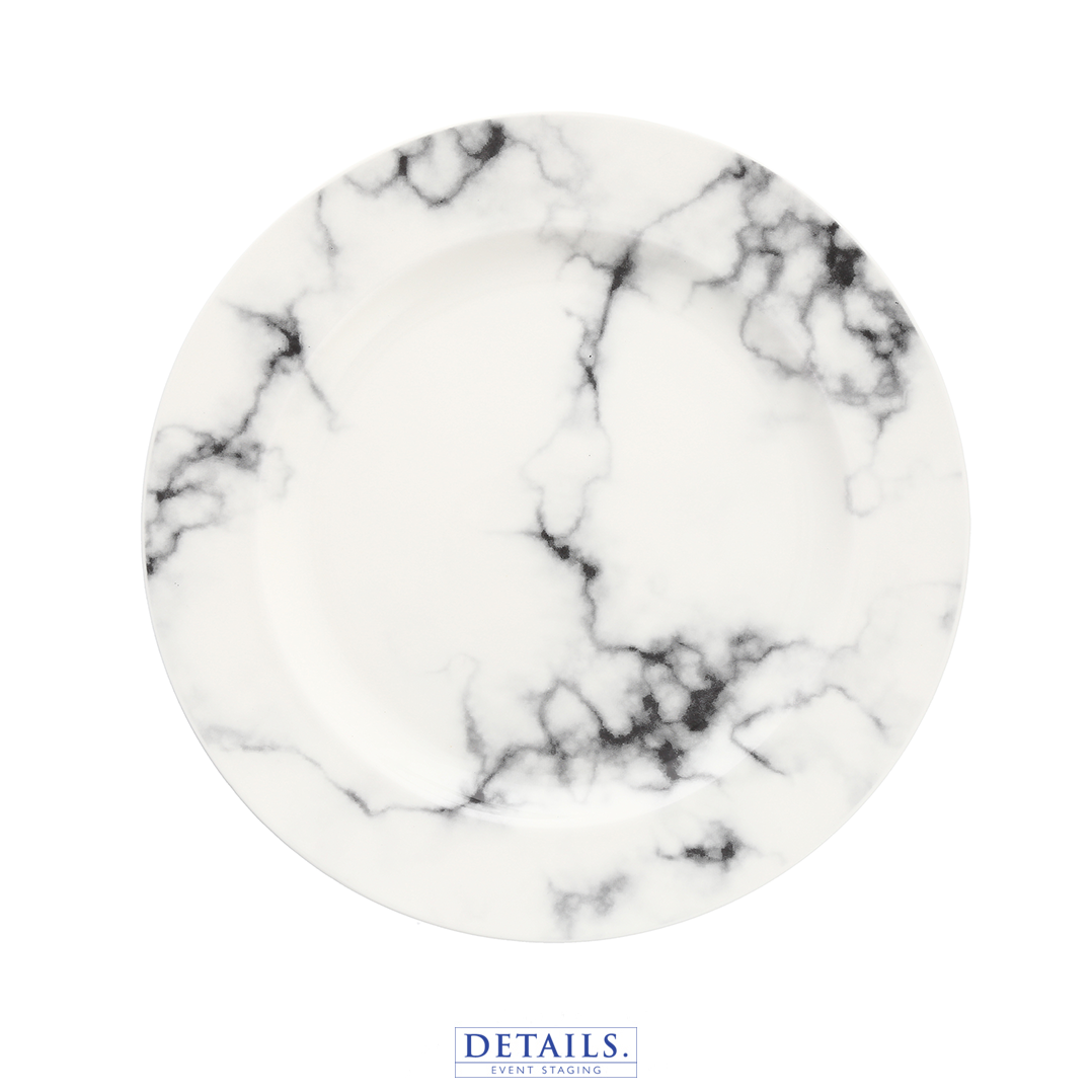 Marble Charger - Available in Charger Size Only