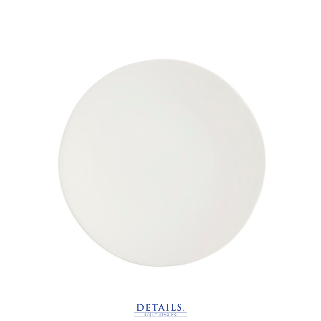 Heirloom Linen Plate - Organic Form, Matte Finish, Available in Luncheon Size