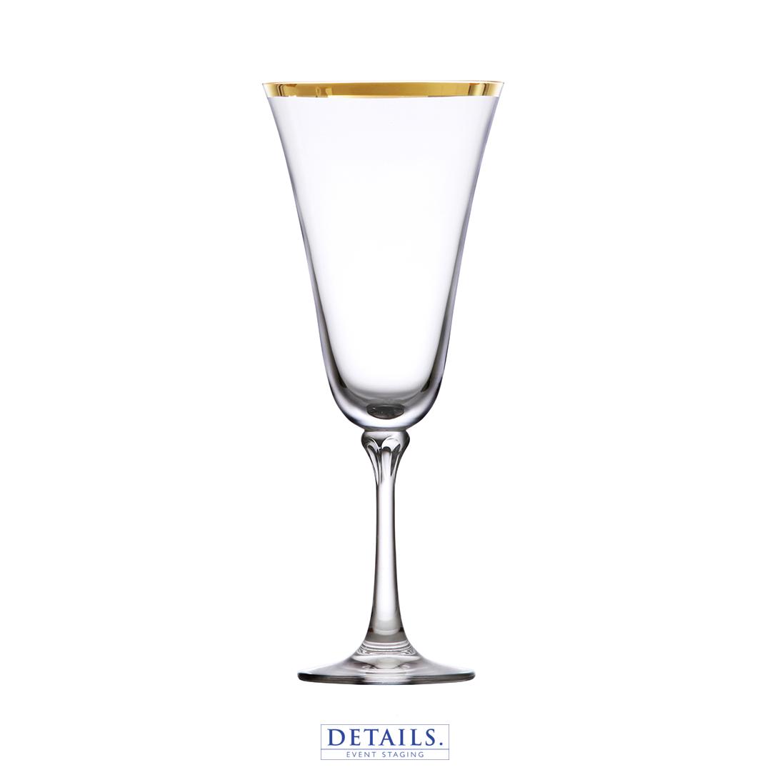 SCHOTT ZWIESEL - CHARLOTTE GOLD RIMMED RED WINE GLASS (13.5 OZ)