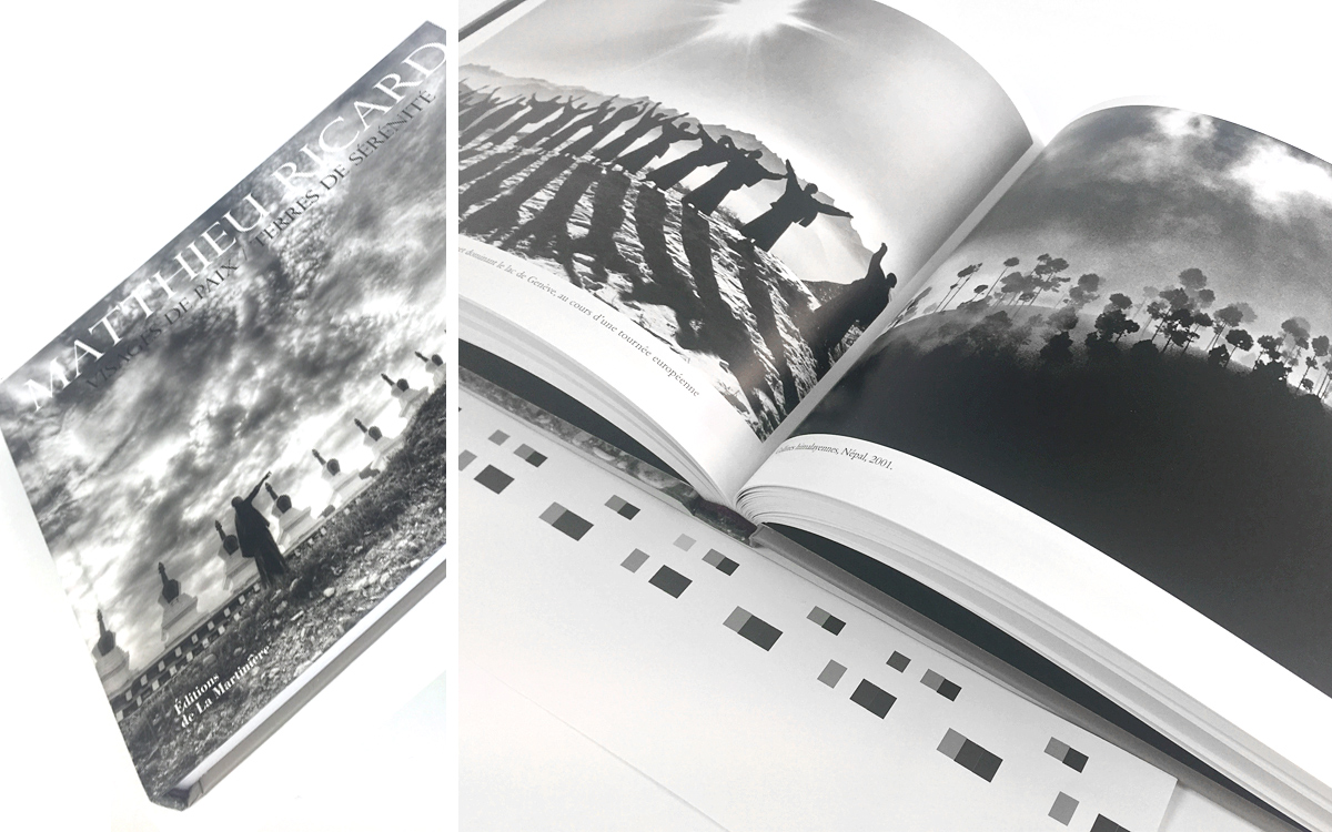 Photoengraving in duotone black + grey