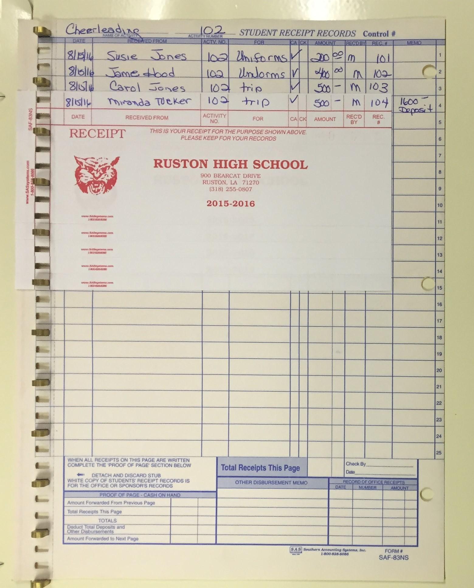 Ruston Hi Student Receipts (2).JPG