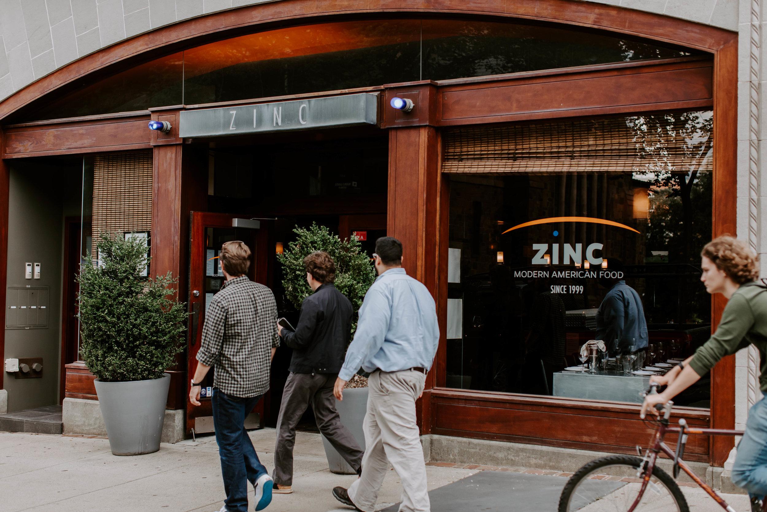 Zinc New Haven Fine Dining 203 624 0507