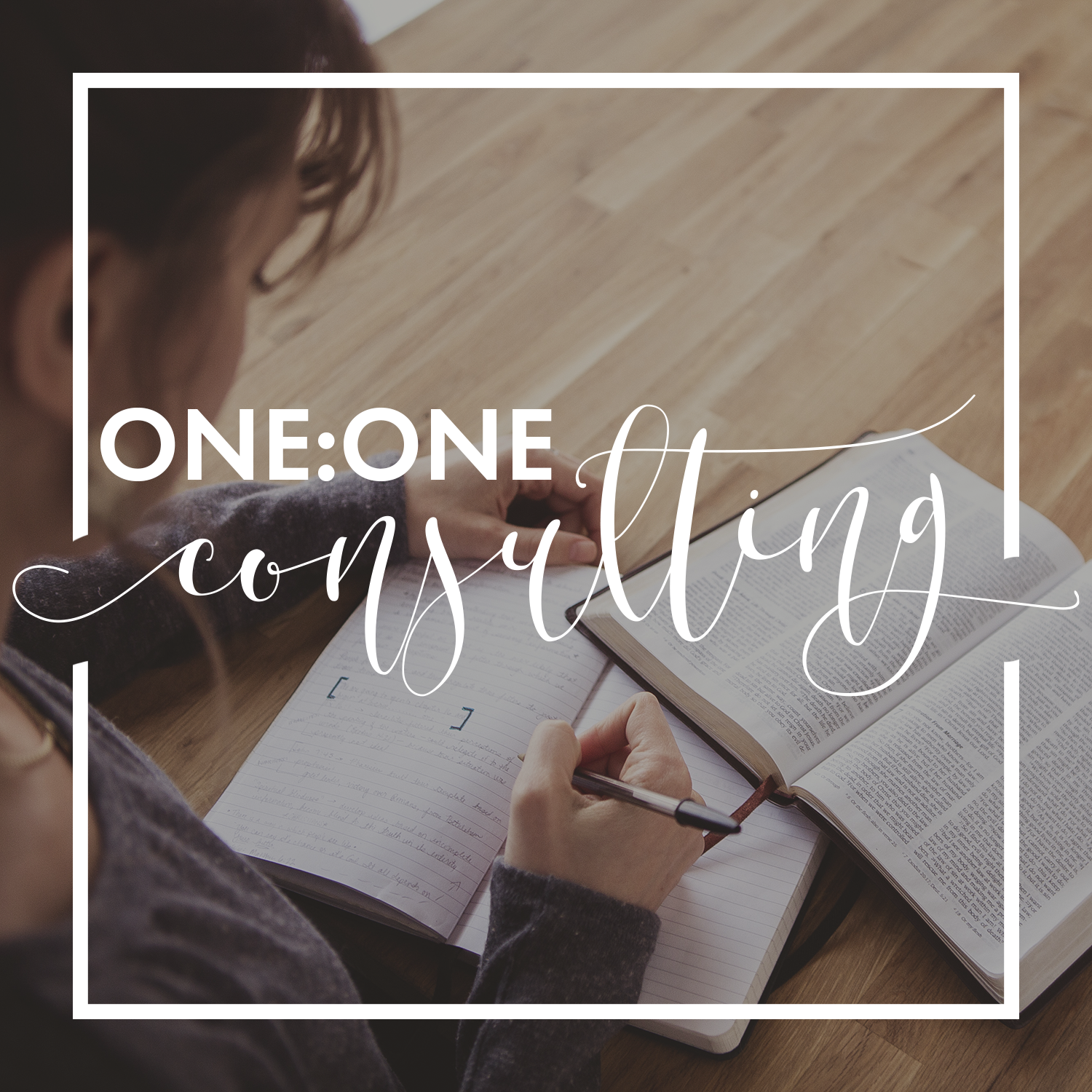 One on One consulting. Partner with Lindsey Hartz creative to create a customized launch plan for your next project.