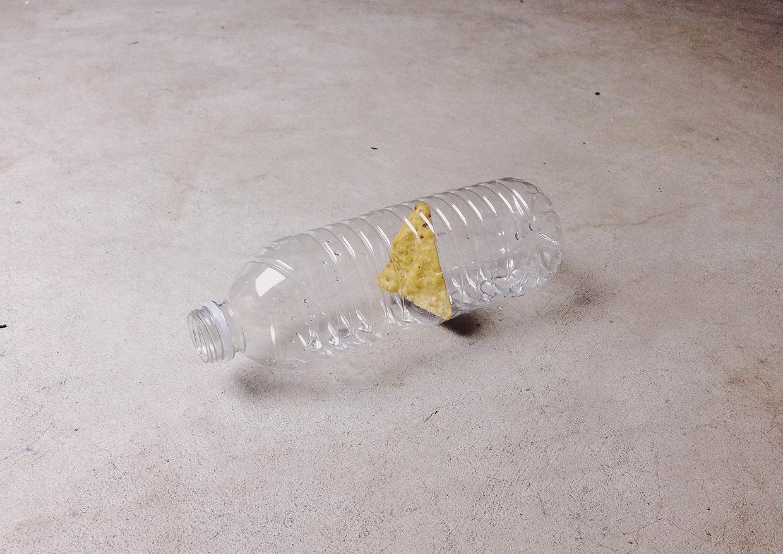 Chip in a bottle