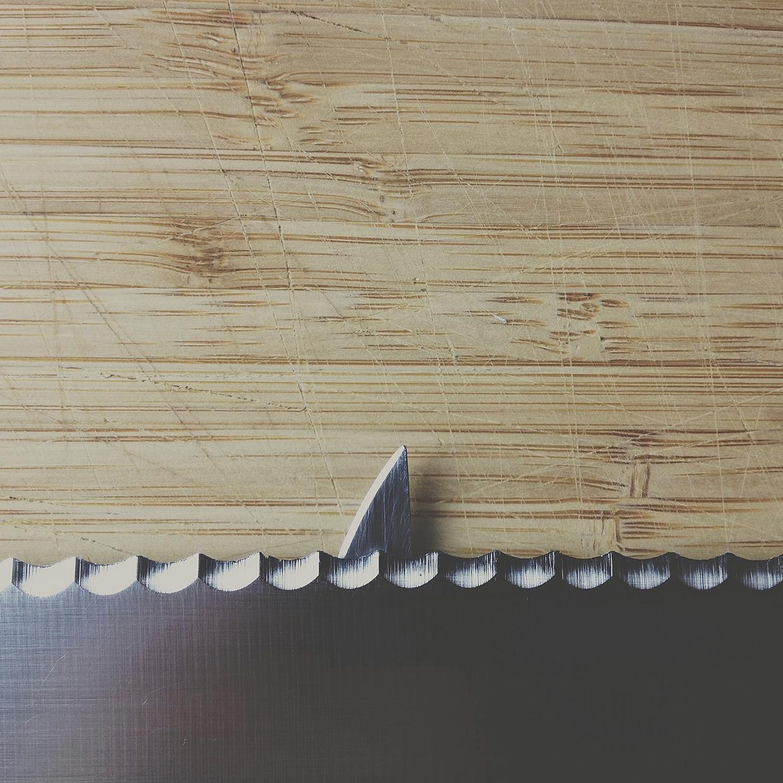 Fillet knife, bread knife