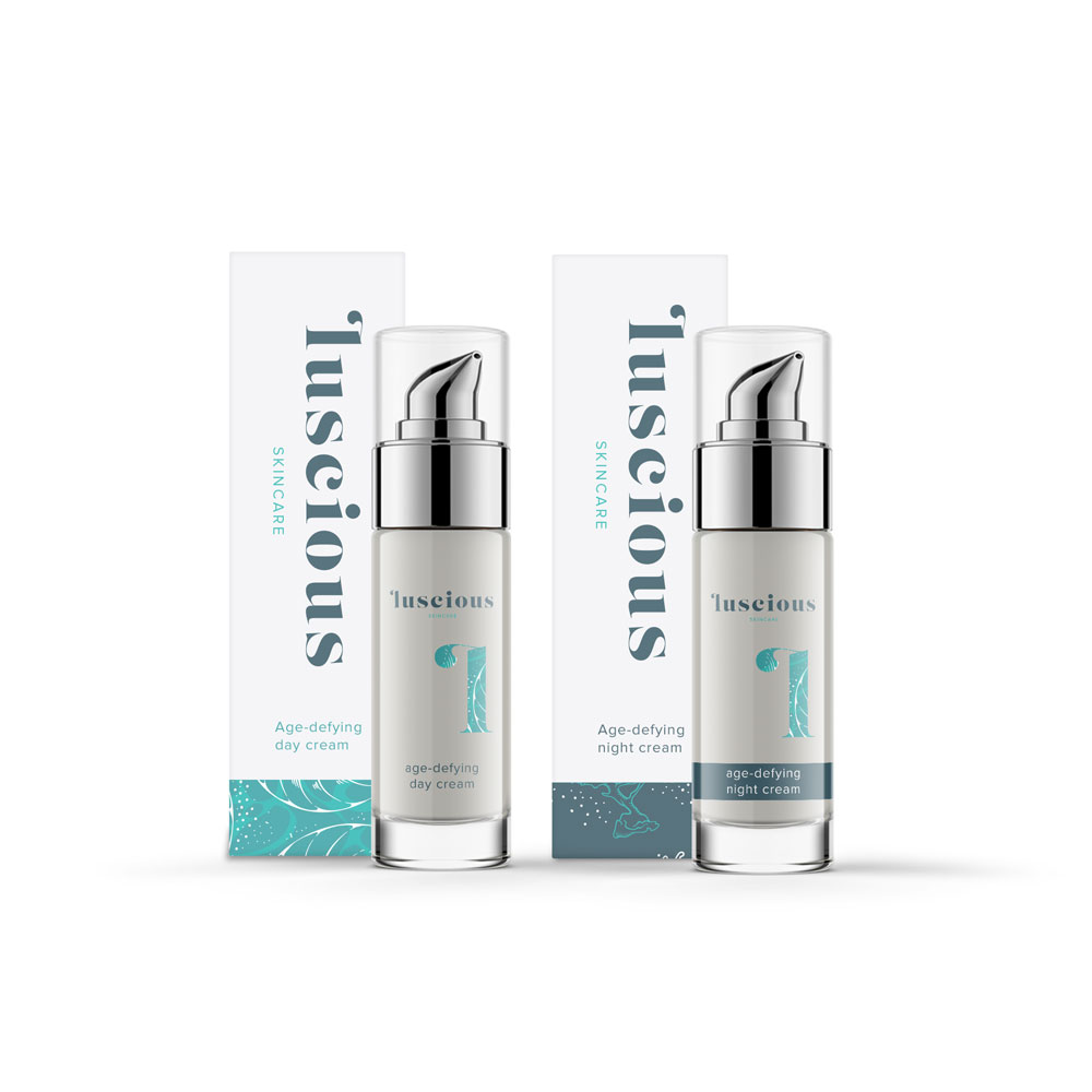 Skincare packaging & branding