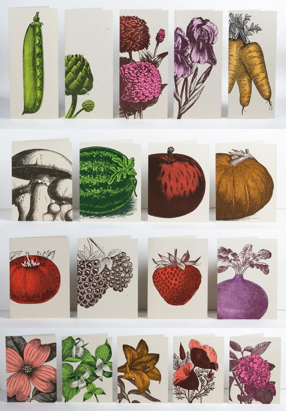 Farmers' Market Greet Cards - Pioneer House • $20