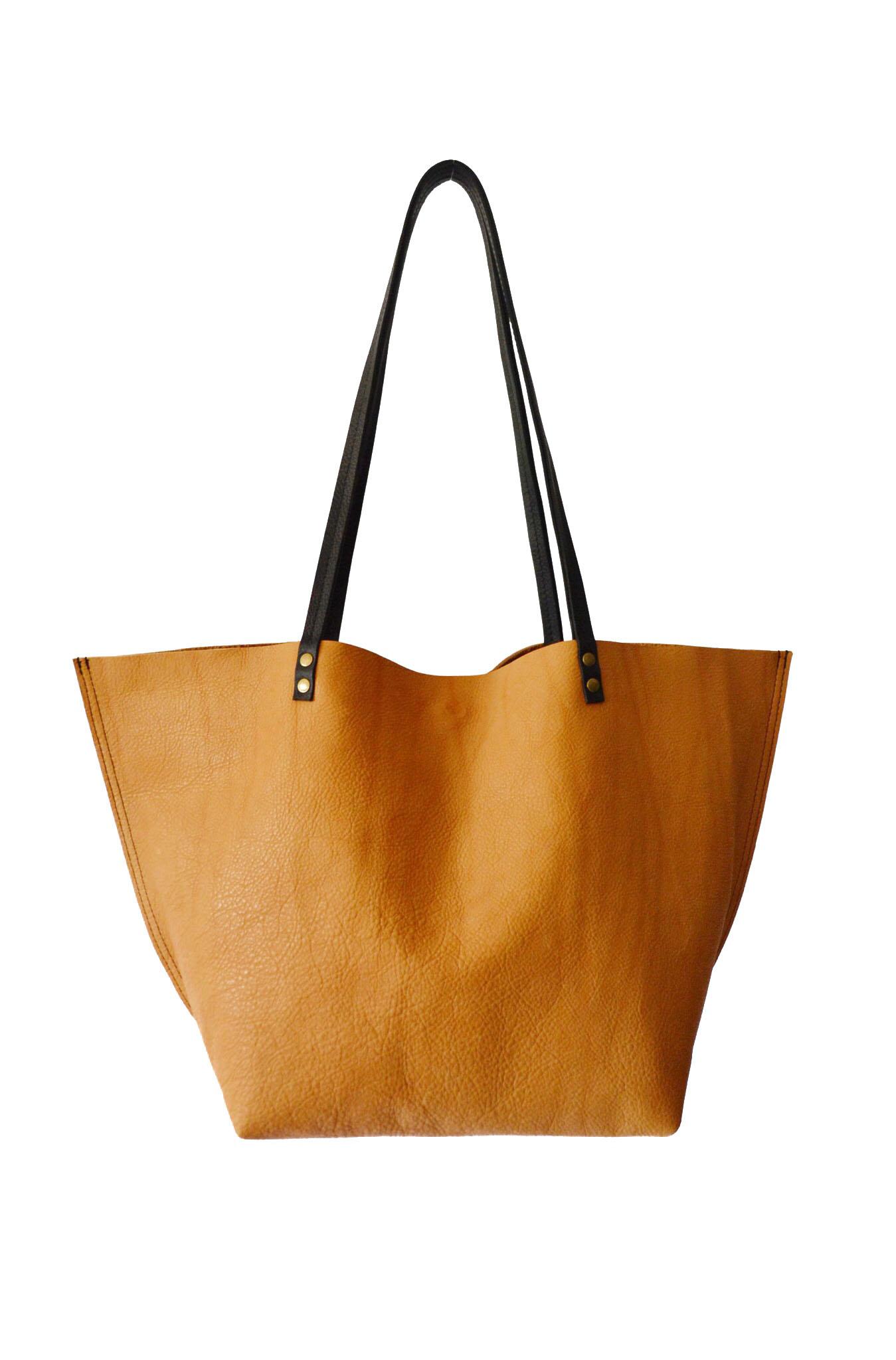 Jessica Tote in Honey Gold  - Lann Designs • $188