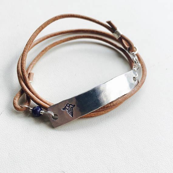 Medical Alert Bracelet  - Box of Pearls • $32