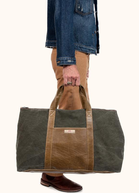 Marc Nelson Denim • Canvas Weekender Travel Bag • $250