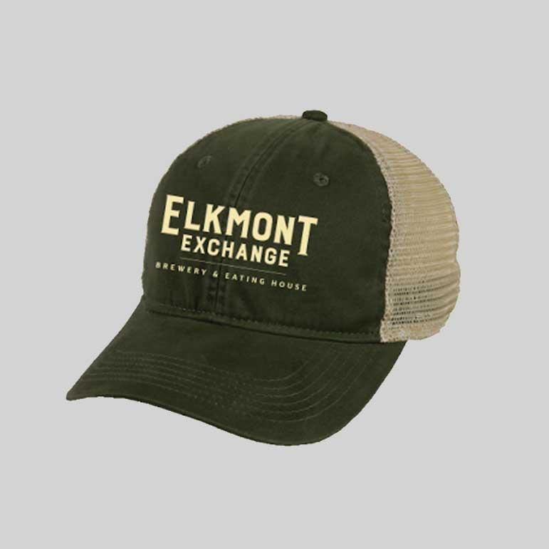Elkmont Exchange • Outdoor Mesh Back Hat • $20