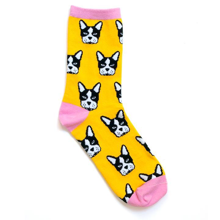 Smarty Pants Paper Co • Boston Terrier Socks • $11