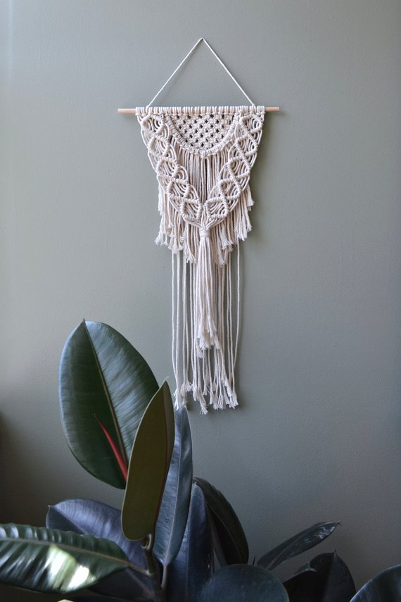 Thistle & Rope • Macrame Wall Hanging • $50