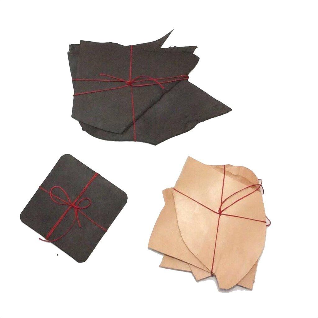 Joanna Warren • Leather Coaster Set • $38