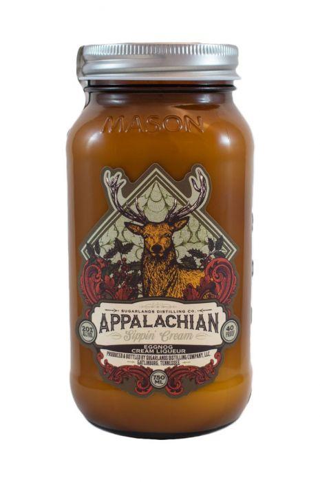 Sugarlands Distilling Co • Appalachian Sippin' Cream Eggnog Liqueur • $24.99