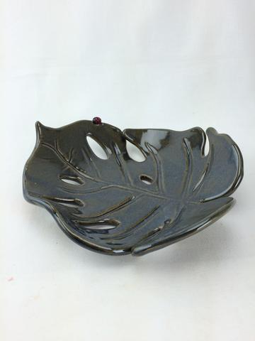 Bug Pottery • Jungle Leaf • $25    Shop Bug Pottery at    Mighty Mud