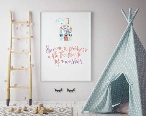 ImagineThat Design Co • Warrior Princess Printable • $10