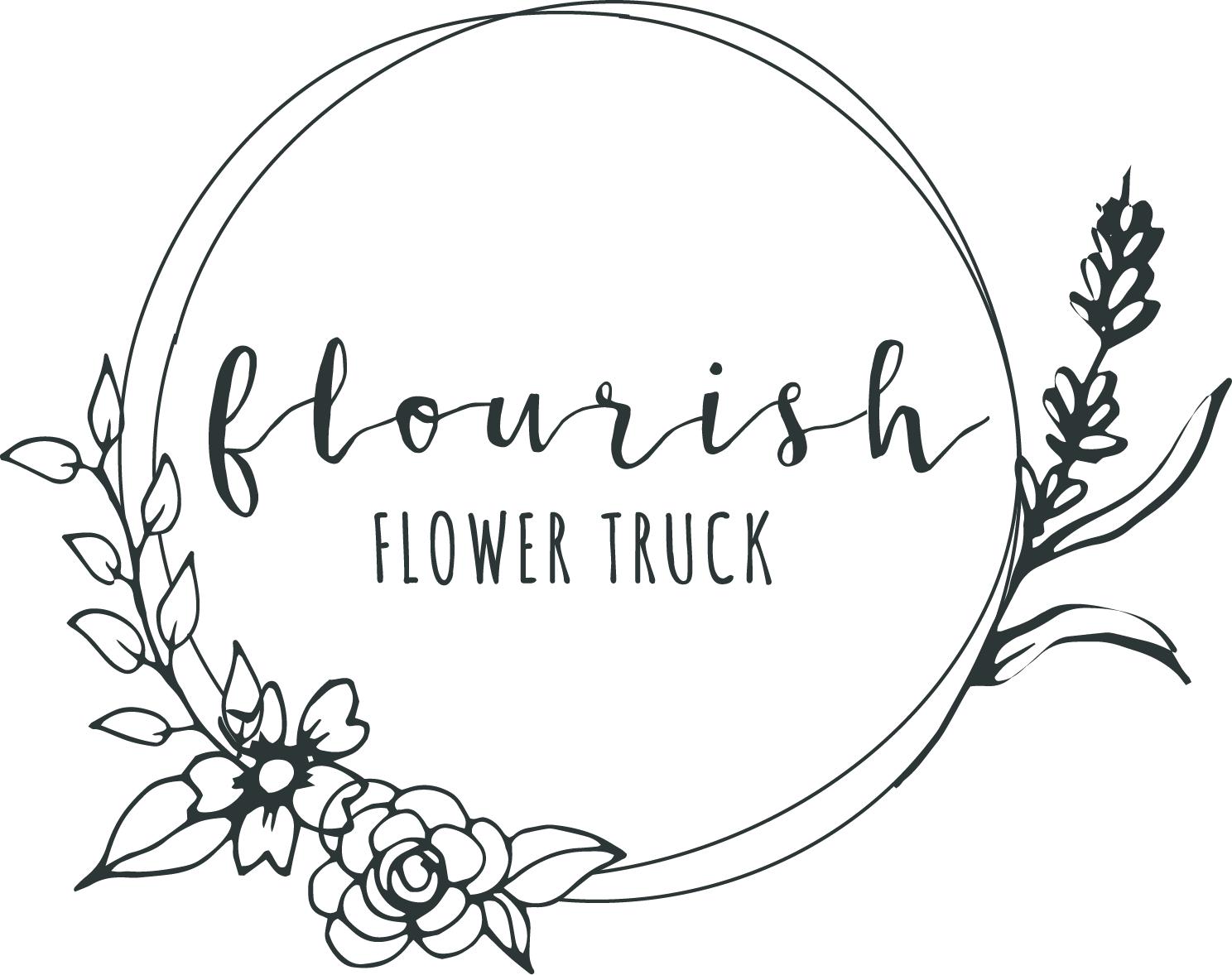 Flourish Flower Truck logo.png