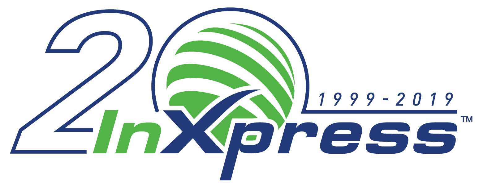 20 year InXpress Logo.png