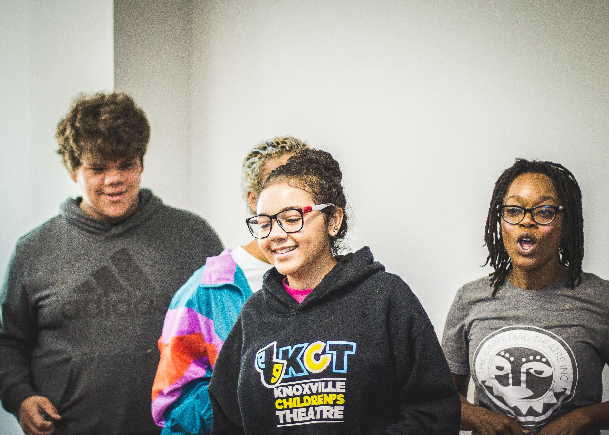 Youth Workshop / Photo by Daje Morris