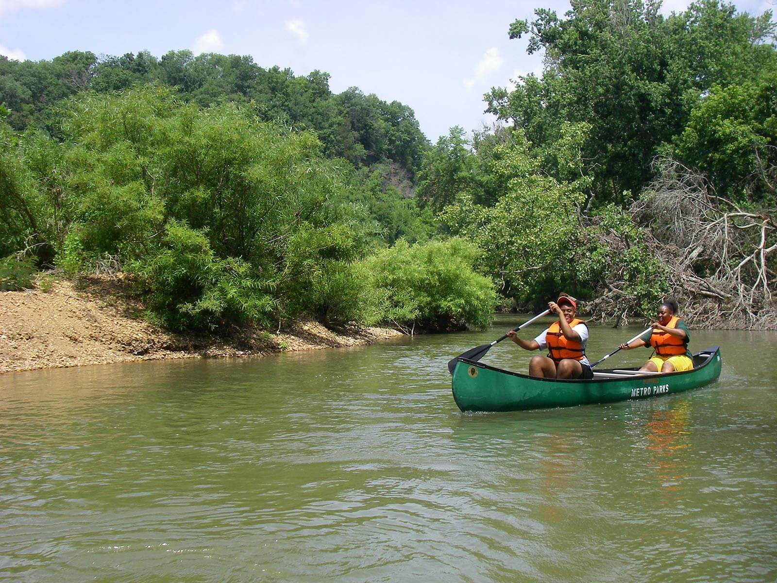 Community Center Trip on the Harpeth River