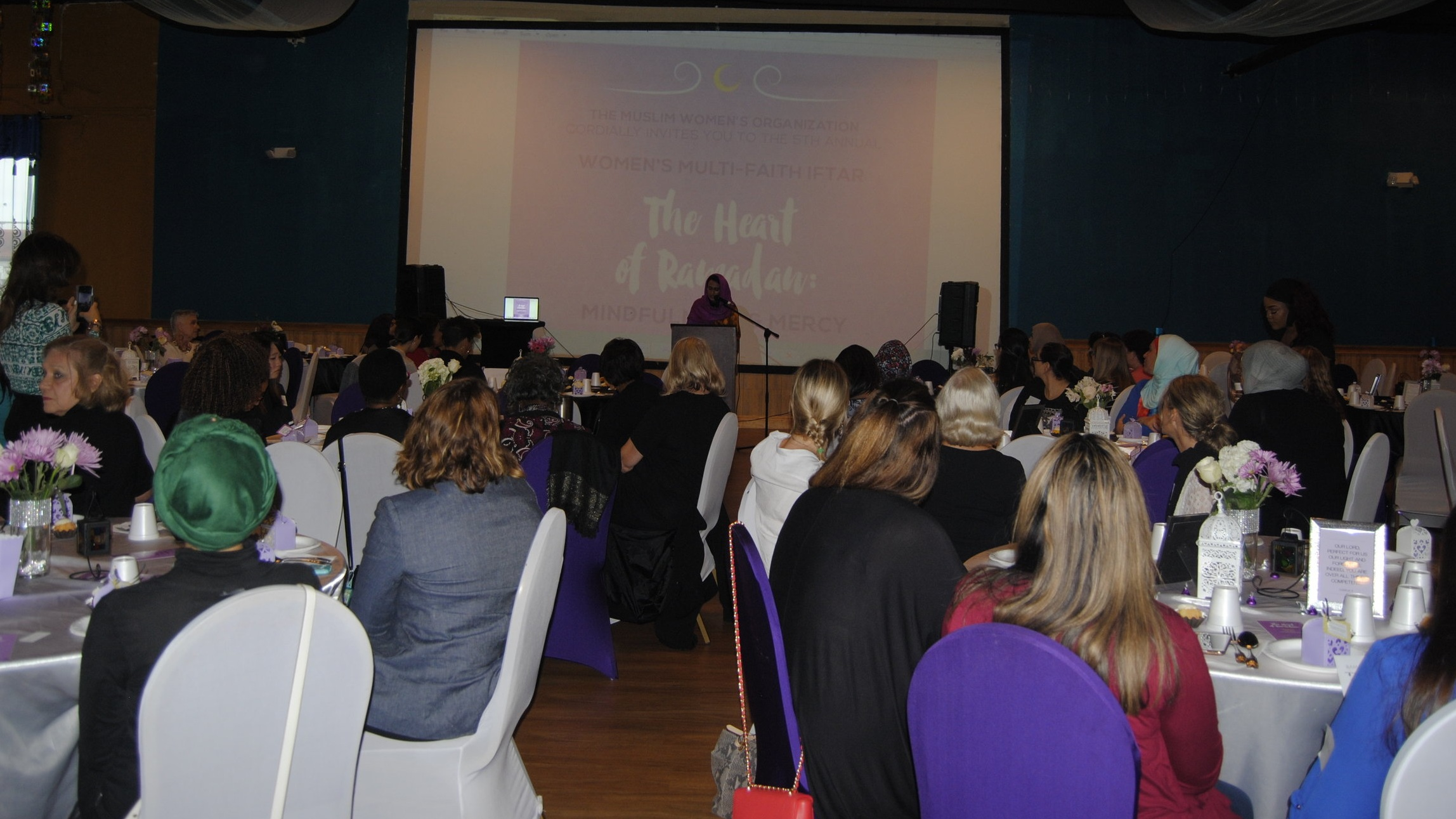 Attendees at our 2017 Women's Multi-Faith Iftar