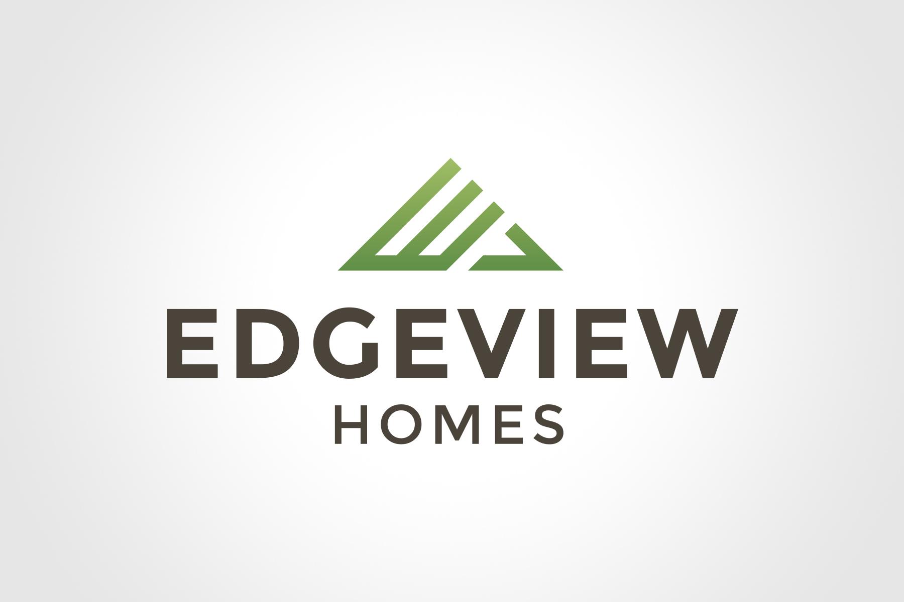 Natasia Designs Edmonton Graphic Designer Logo Design Branding and Brand Development Alberta Construction and Home Builder Architect Edgeview Homes