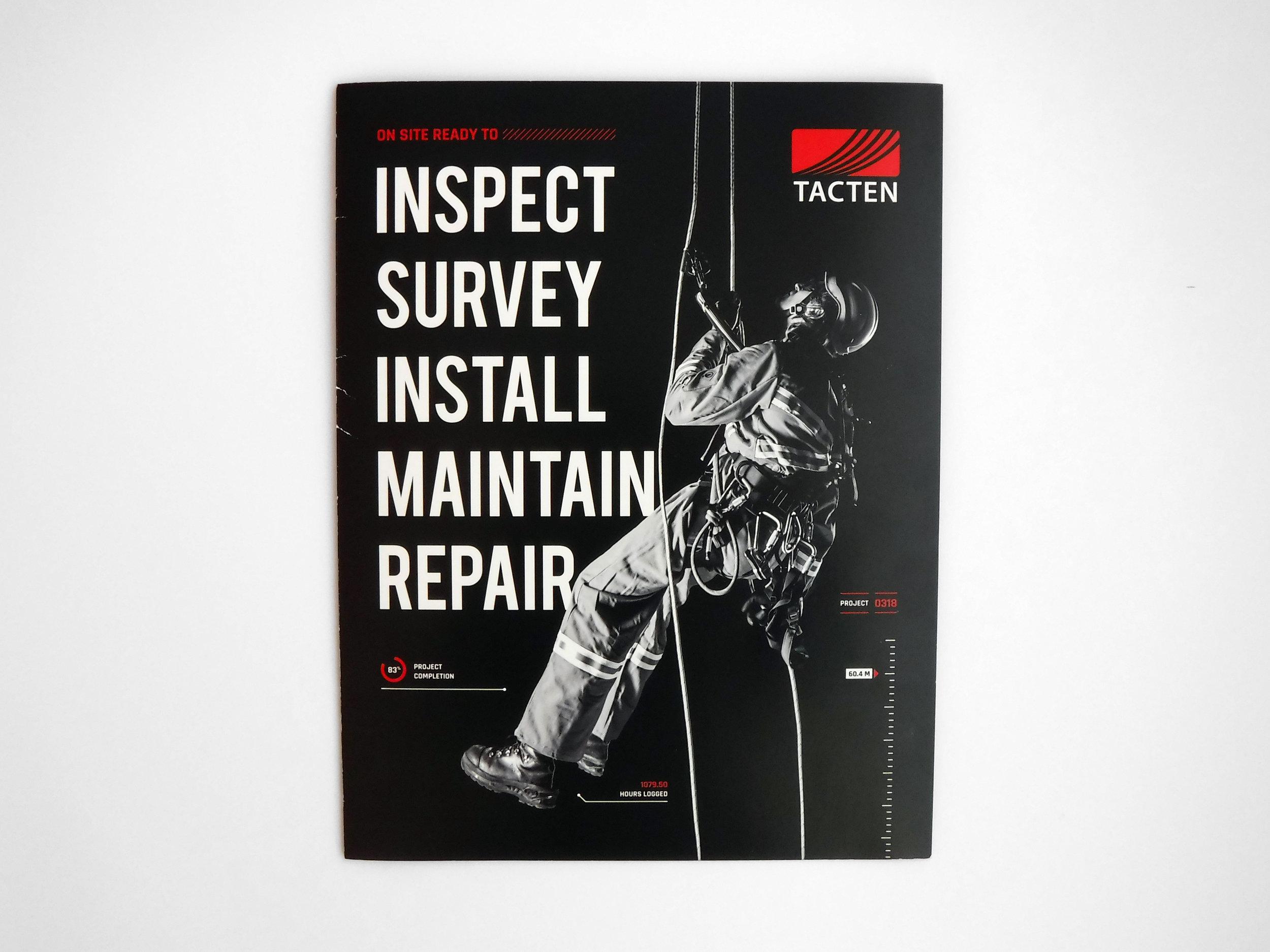Natasia Designs Freelance Graphic Designer and Branding Expert based out of Edmonton, Alberta - Tacten Brochure Design and Promotional Flyer
