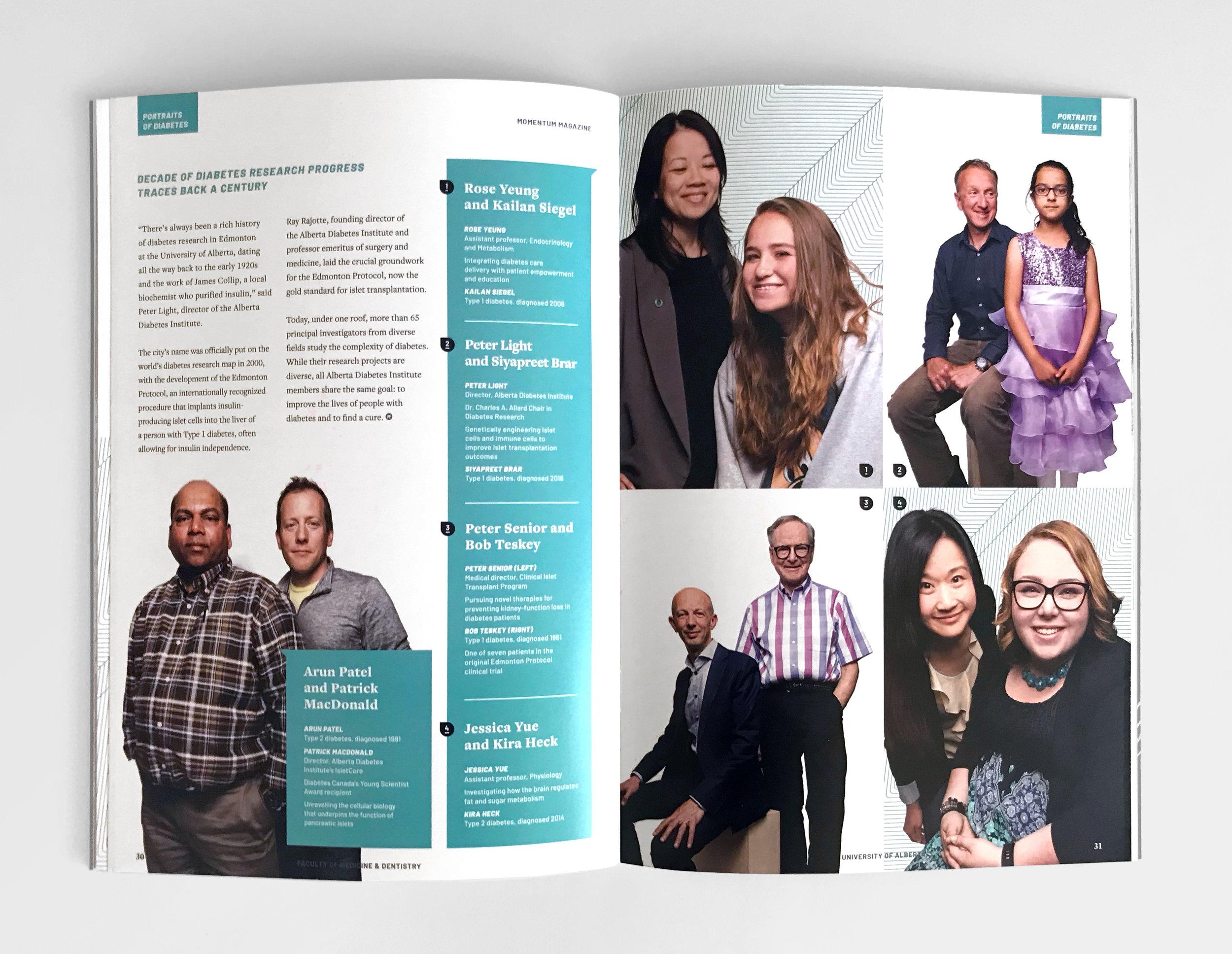 Natasia Designs Edmonton Alberta Graphic Designer Magazine Print Book Design Editorial Art Direction Creative University of Alberta