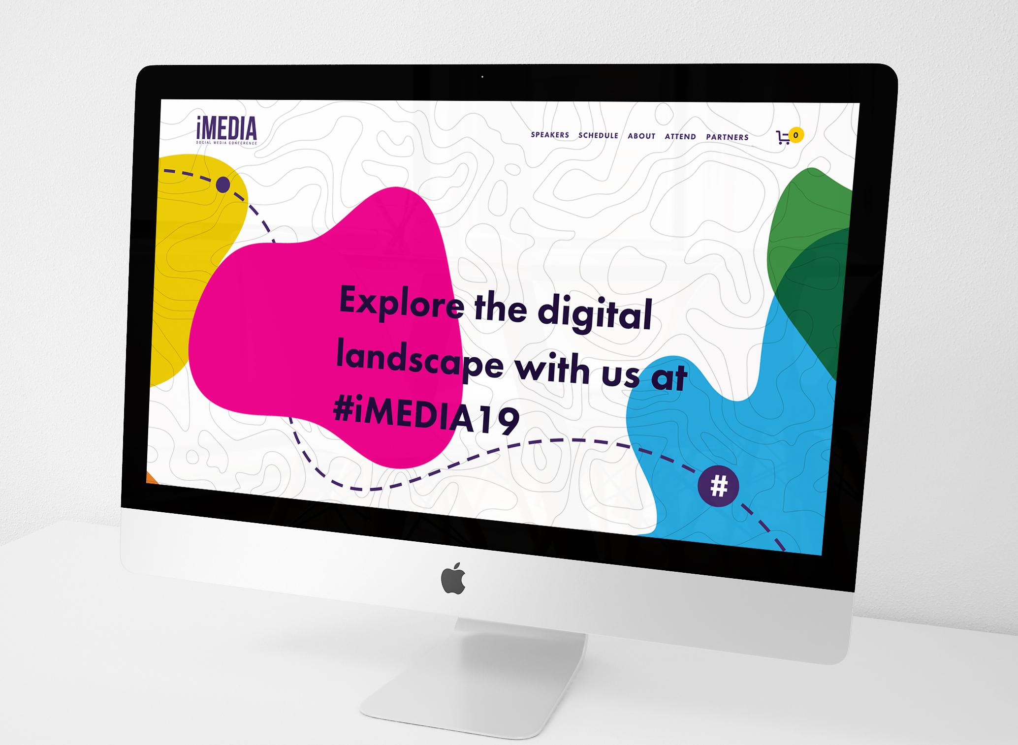 iMedia Social Media Conference Brand Toolkit Development