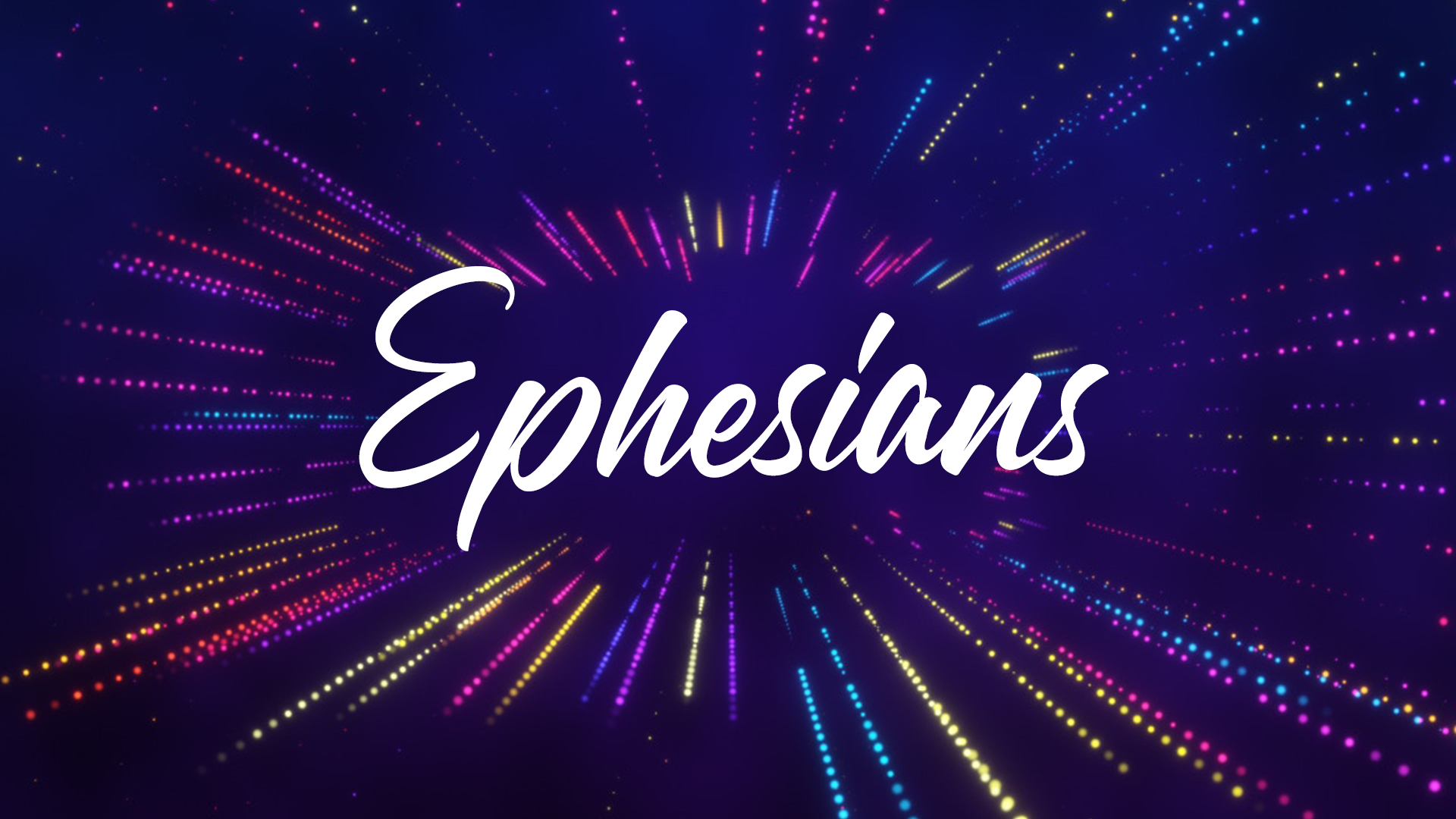 This summer, we are working our way through the book of Ephesians. Follow along below!