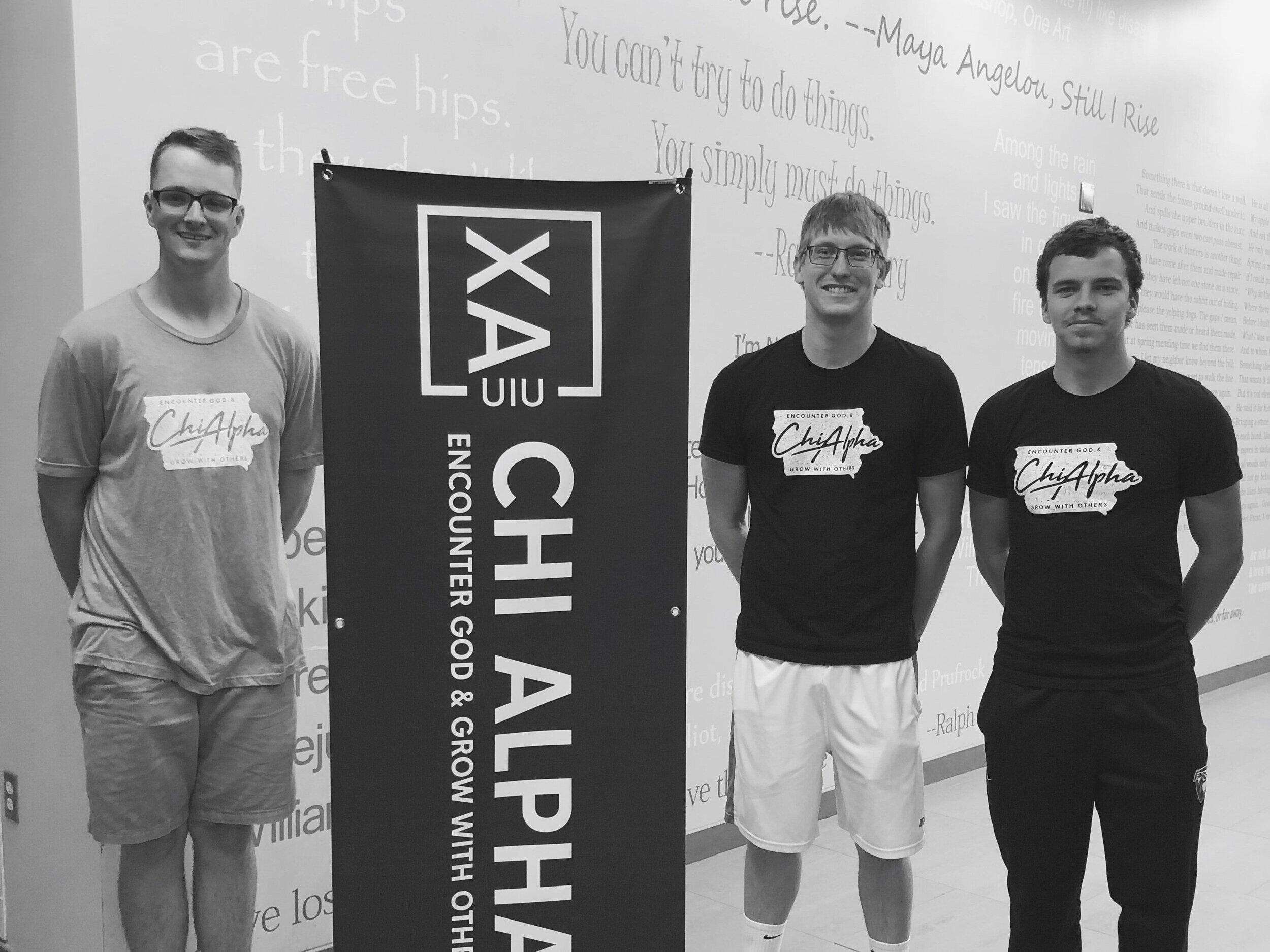 Chris Harsh, Ryan Goodenbour, & Brett Levins - Mondays | 7 PM | Student Center