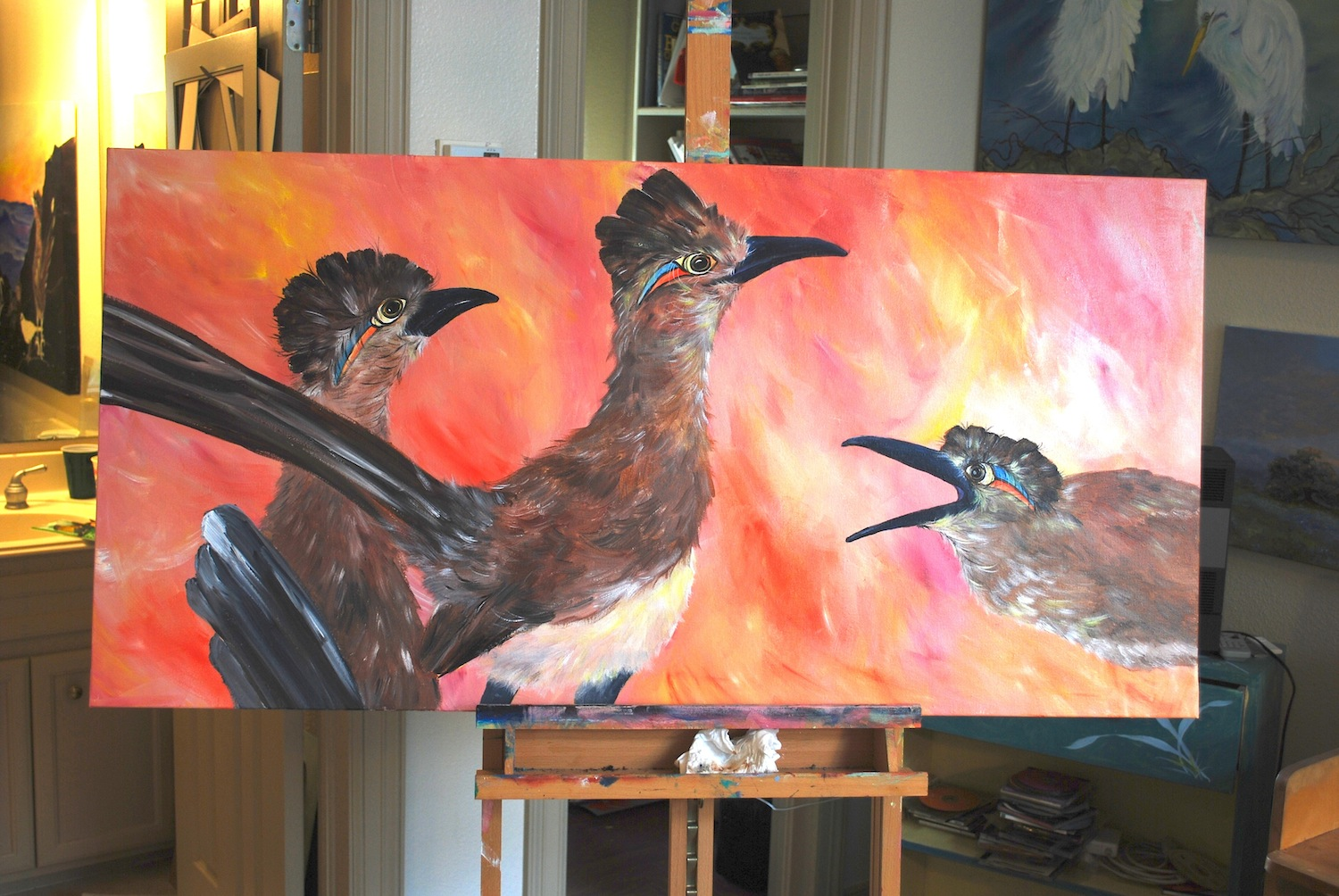 roadrunner painting nearly finished.JPG