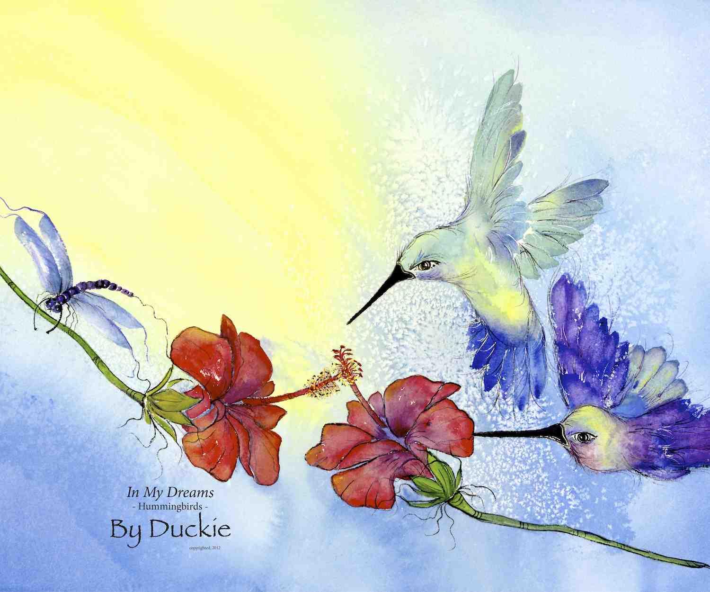In My Dreams150 hummingbirds Tapestry .jpg
