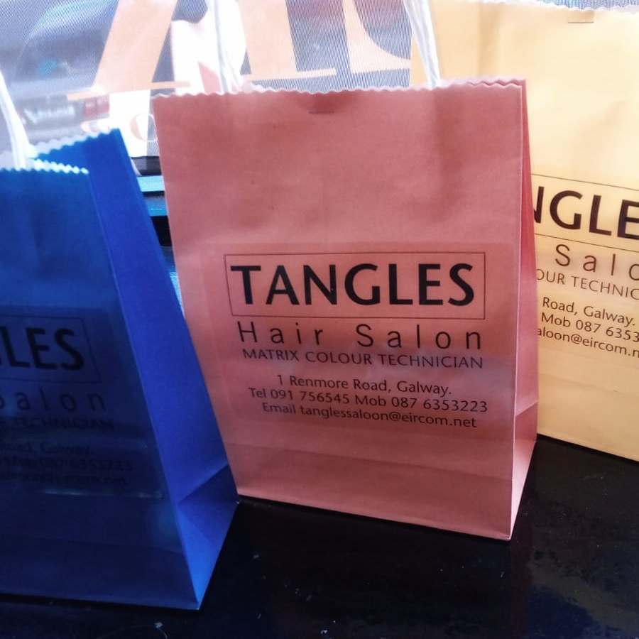 3 x product bags worth €45 each