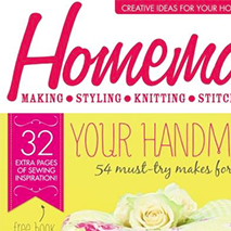 Homemaker Magazine - January 2015This issue of the popular UK homemaking magazine includes a