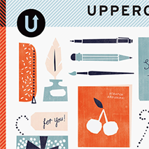 UPPERCASE Magazine: Issue 17 - April 2013This Special Stationery Issue, with a scratch and sniff cover, includes an article I wrote about one of my favorite, nostalgic collectibles.
