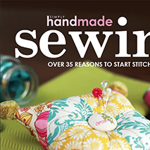 Simply Handmade Sewing - September 2012This seasonal book, published by Simply Handmade magazine, includes one of my prints in its