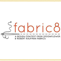 FABRIC8: A Design Contest from Spoonflower & Robert Kaufman Fabrics - FINALISTJune 2013A competition to discover the next superstar fabric designer. From hundreds of artists, the field was narrowed down to eight finalists, each of whom was asked to create a collection inspired by the theme of GeekChic.