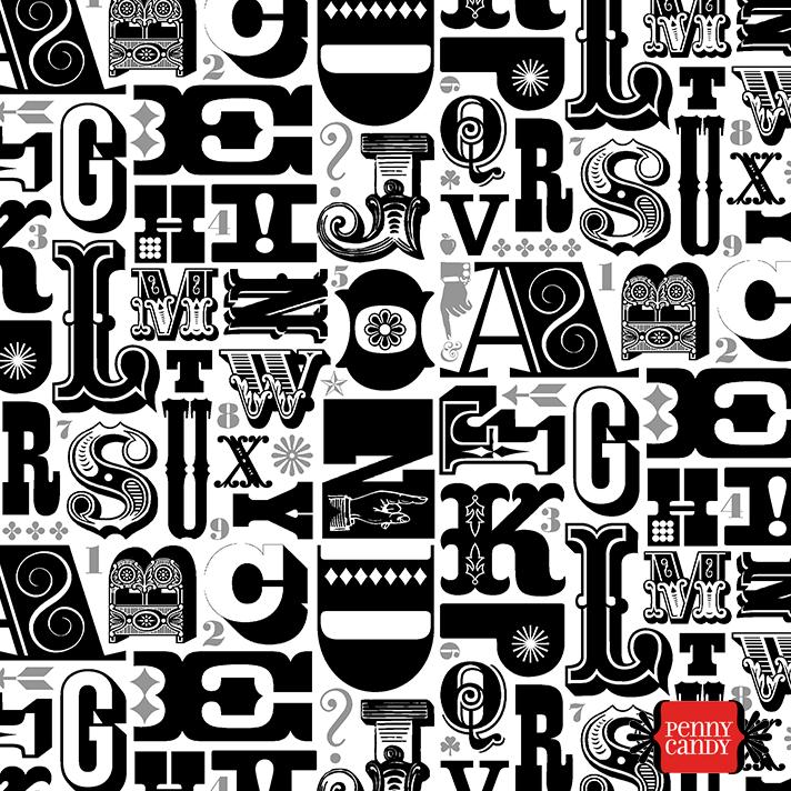 Woodtype Alphabet