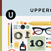 UPPERCASE Magazine: Issue 40 - December 2018The 10th anniversary issue features tips on longevity from successful artists around the world, articles on art supplies, photos of dream studios, and over 80 covers curated from the 300+ entries in the first Uppercase cover design contest.