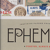 Ephemera: Inspiring Papers from the Past - Uppercase Encyclopedia of InspirationJanuary 2019Artists, designers, creative entrepreneurs and more share favorites from their ephemera collections and how it inspires their art. Full of gorgeous old papers, intriguingly distressed, found bits and pieces, astounding objects of design from years past, nostalgic mementos and typographic treasures.
