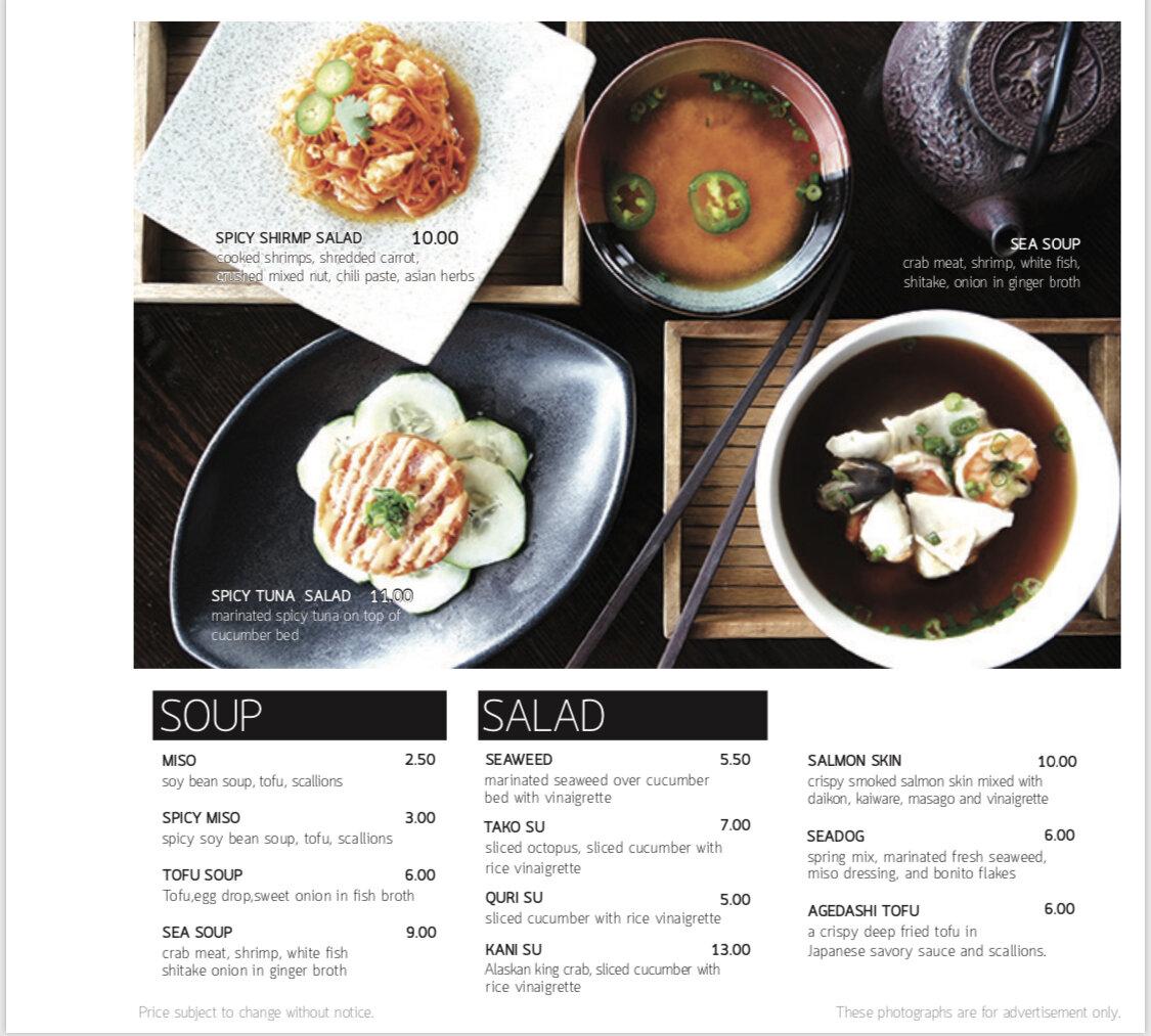 Seadog Soup & Salad