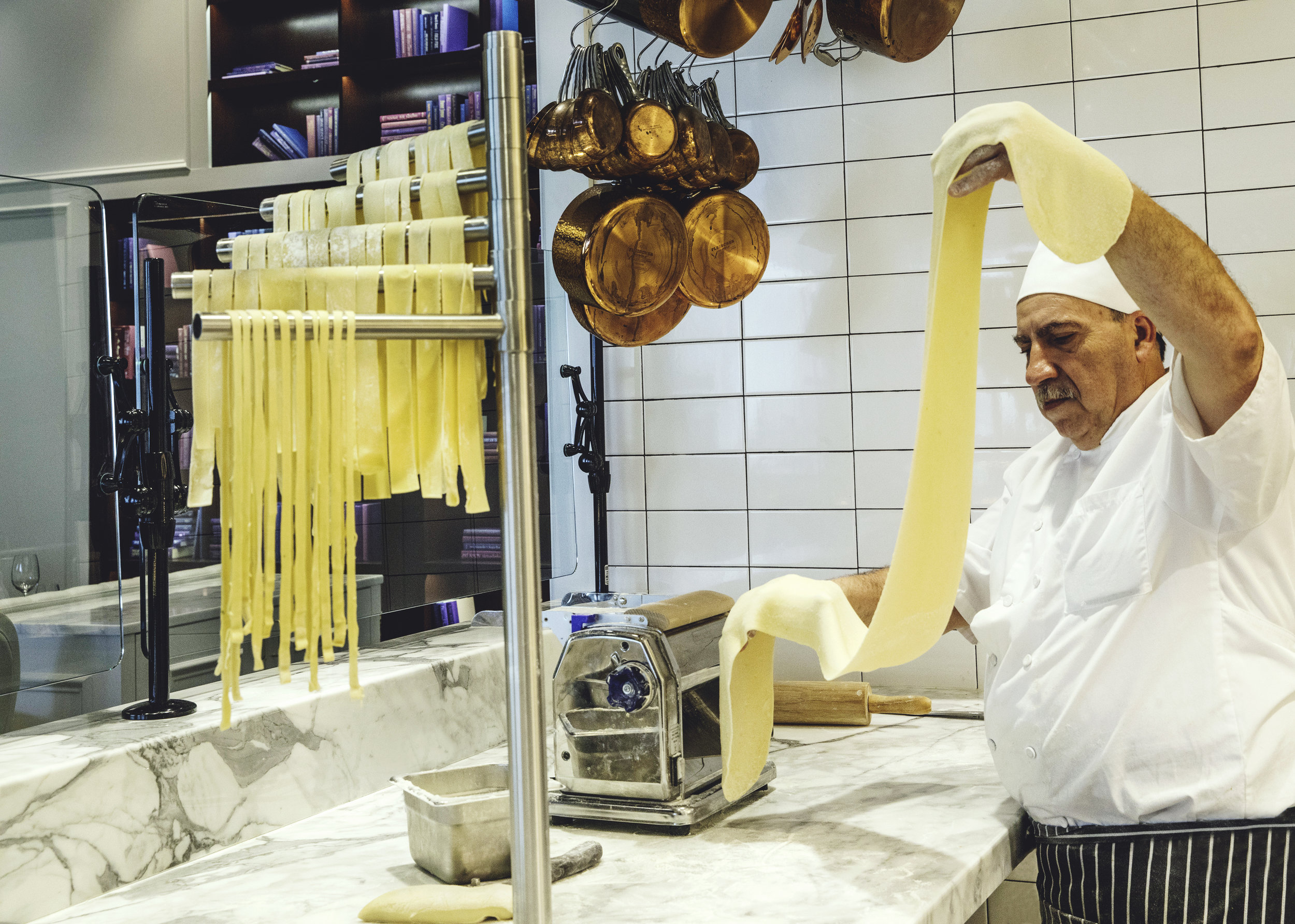 Give the Gift Of   HANDMADE PASTA!