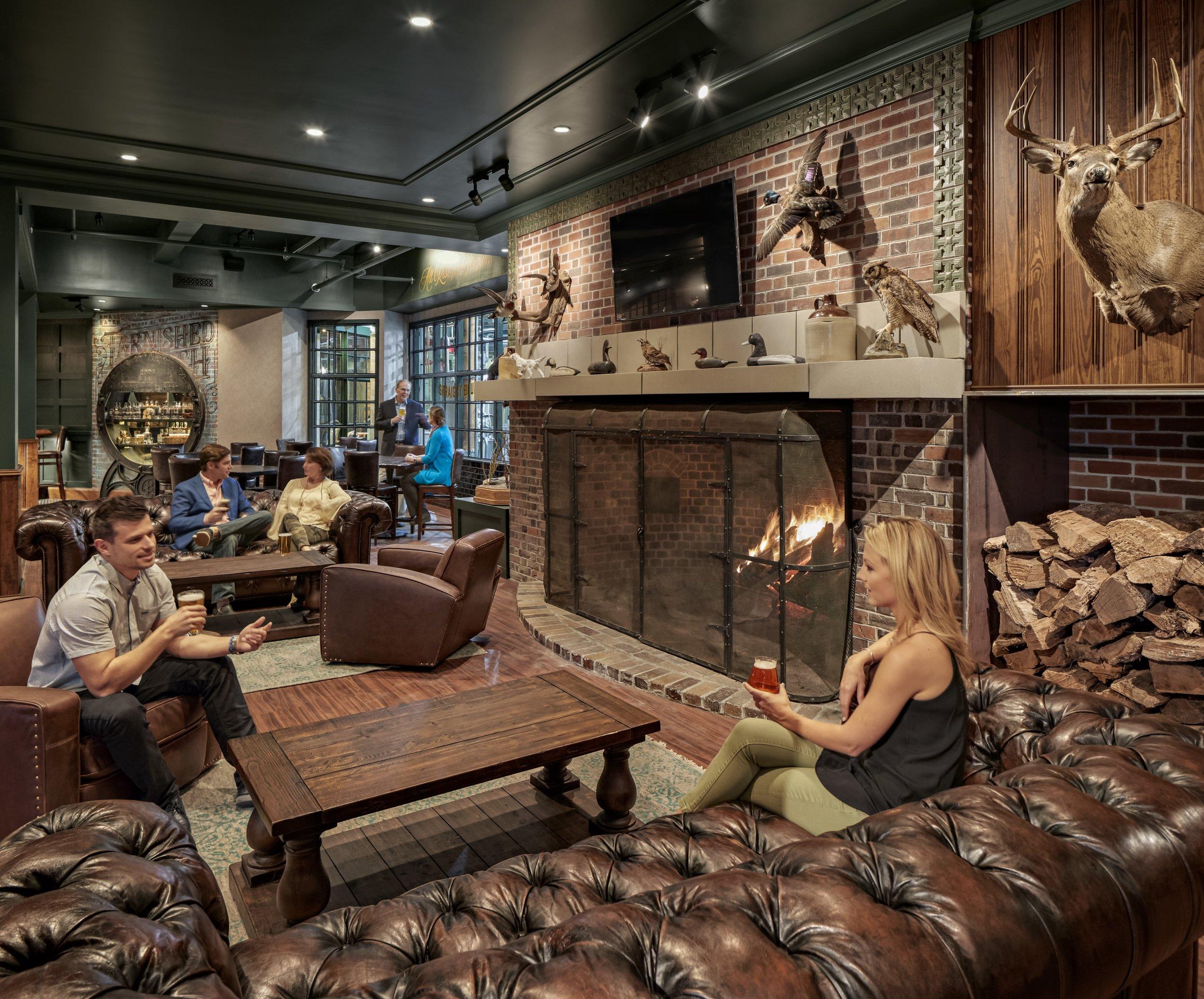 The Hunt Room Cavalier
