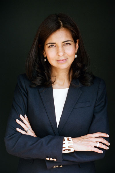 """LUBNA MIAN: Executive DIRECTOR, Faculty Affairs, Upenn office of the provost   What Owning It Means to Her: """"Owning it can mean learning from your mistakes, understanding that you need not be terrific at all things, and creating space for yourself to move ahead even when you've encountered obstacles."""""""