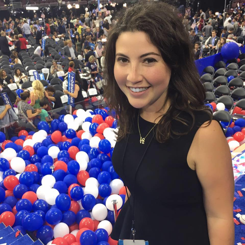 """morgan finkelstein: democratic spokeswoman   What Owning It Means to Her: """"You have a perspective that *literally* no one else has - and it's a valid one. So share your ideas, speak out, and punch up!""""  Follow Morgan:  http://www.twitter.com/momofink"""