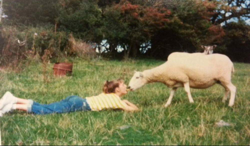 Taz - always an animal lover