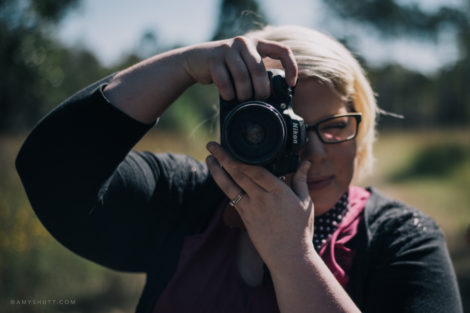 Student Sarah enjoys a day out photographing nature and wildlife